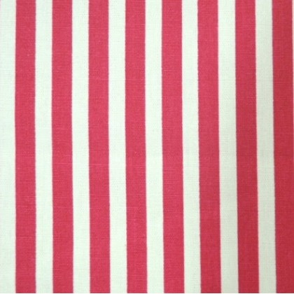 8mm stripes - Red and White