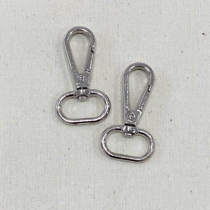 Swivel Hook Silver 2.0cm