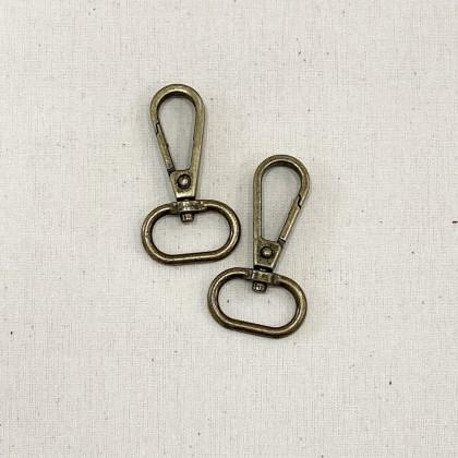 Swivel Hook Style 2 Antique Bronze 2.0cm