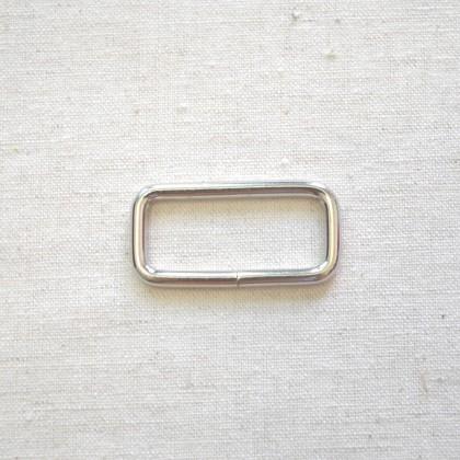 Square Ring Silver 3.2cm