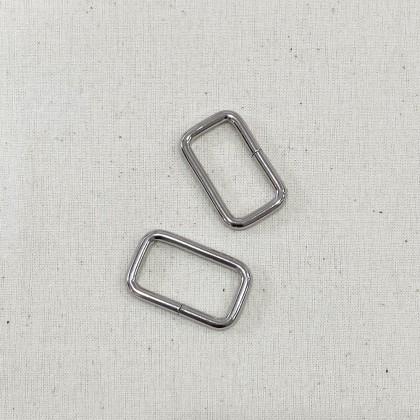 Square Ring Silver 2.6cm
