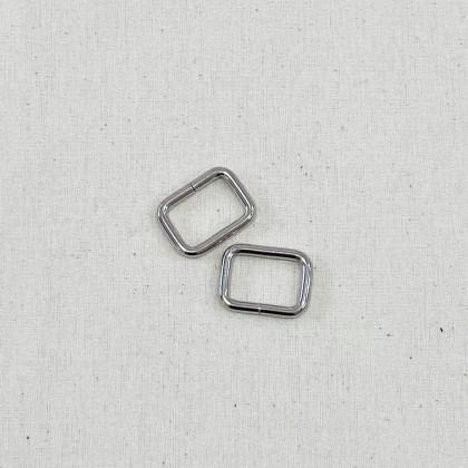 Square Ring Silver 2.0cm