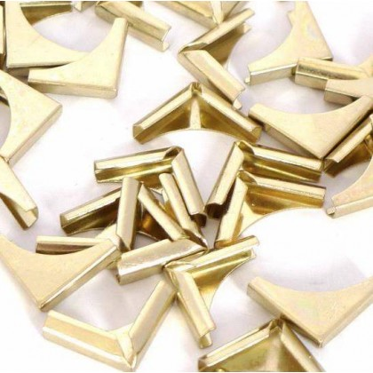 Square Book Corner 15mm Gold
