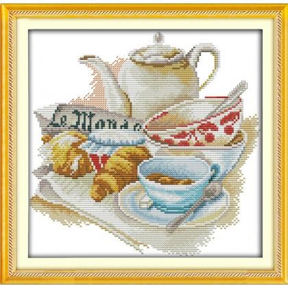 Quietly elegant tea set