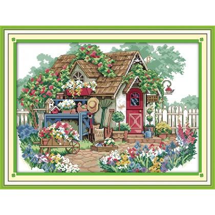Flower cabin 2