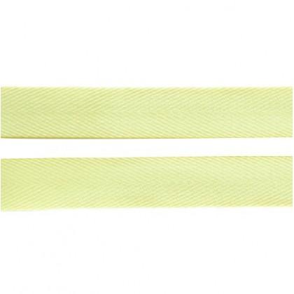 Cotton Tape 16mm - Pastel Yellow
