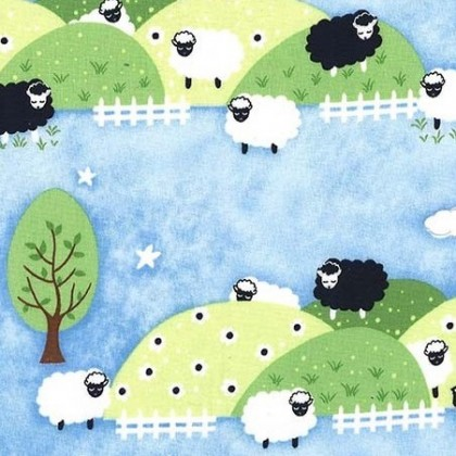Counting Sheep Blue