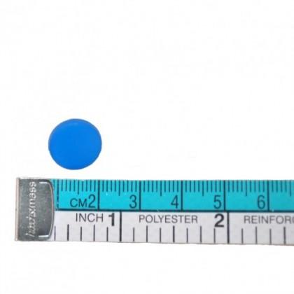 Colourful Snap Button, Blue