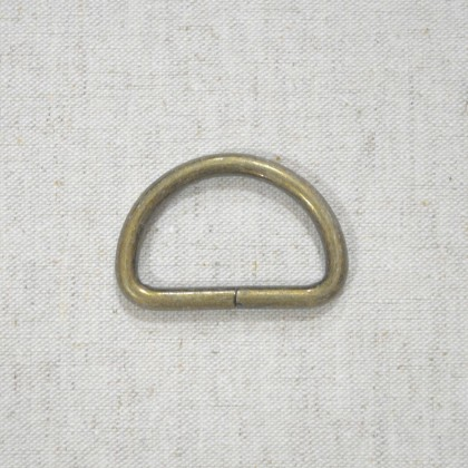 D-Ring Antique Bronze 3.2cm