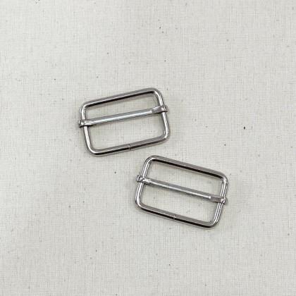 Adjustable Slider Silver 3.2cm
