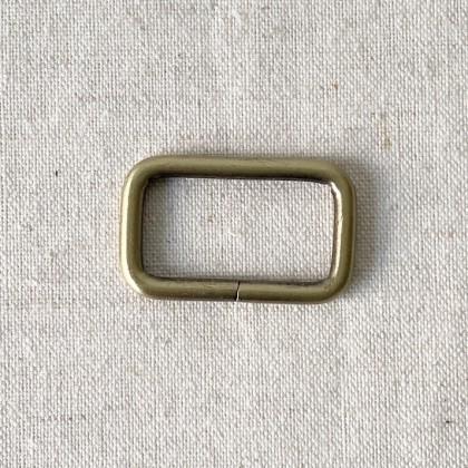 Square Ring AB Shine 3.2cm