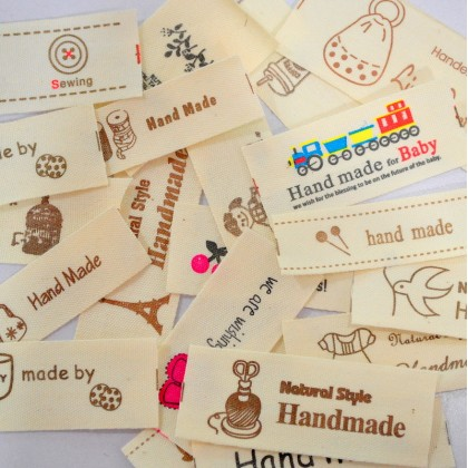 Cotton Label Sample Pack