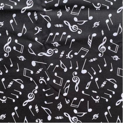 Music Notes Black