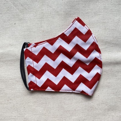 Cotton Fabric Facemask 1
