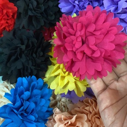 CLEARANCE : Fabric Flower1