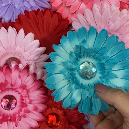 CLEARANCE : Fabric Flower2