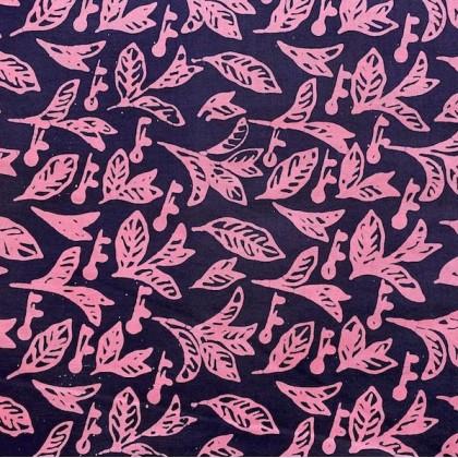 Blue Pink Bunga Padi