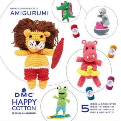 DMC Happy Cotton Book 10 - Amigurumi