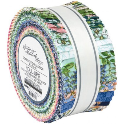 Nature Notebook Jelly Roll
