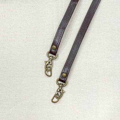 Slim Long Handle non-adjustable (Dark Brown)