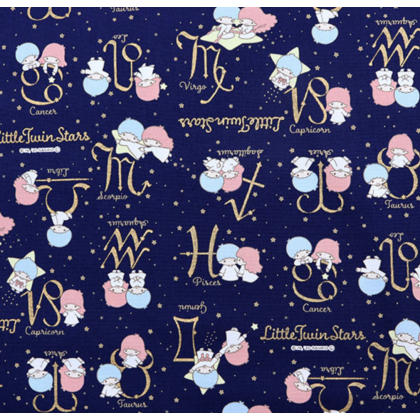 Sanrio Twin Stars Constellation Navy