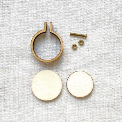 Mini Hoop Frame 2.5cm Round