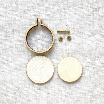 Mini Hoop Frame 3.0cm Round