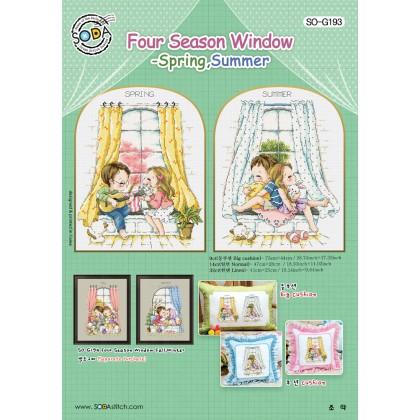 Four Season Window-Spring,Summer