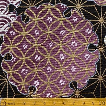 Oriental Circle Purple
