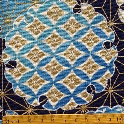 Oriental Circle Blue
