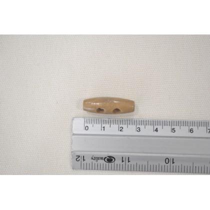 Small Toggle Button Brown