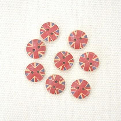 Union Jack 13mm 8pcs