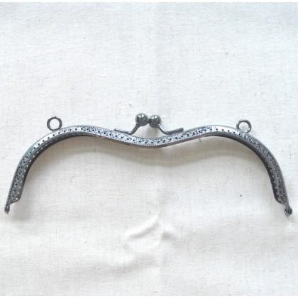 Stylish Gunmetal Frame 19cm