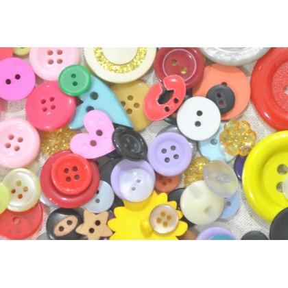Assorted Craft Button 100pcs