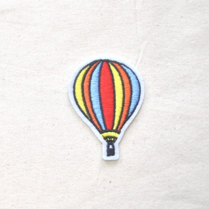 Hot Air Balloon Iron-on Patch