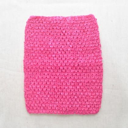 Crochet Band Fucshia 16cm x 21cm